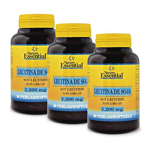Lecitina de soja 1200 mg. 150 perlas (Pack 3 unid.)