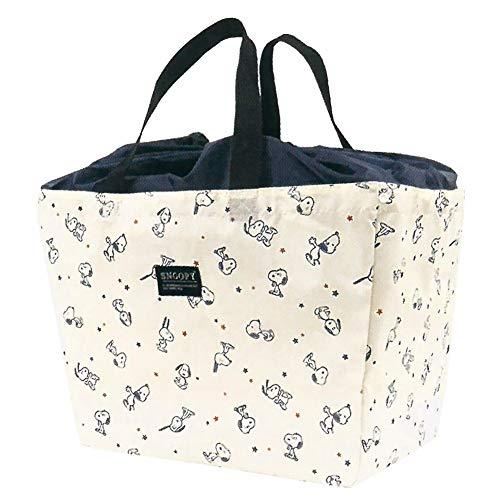 レジカゴバッグ 保冷バッグ スヌーピー 折りたたみ 大容量 お買い物バッグ 軽い エコバッグ 巾着 おしゃれ アウトドア ショッピングバッグ (ホッピング)