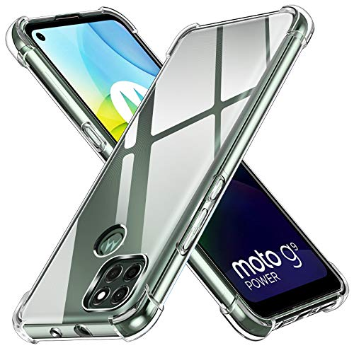 ivoler Funda para Motorola Moto G9 Power, Carcasa Protectora Antigolpes...