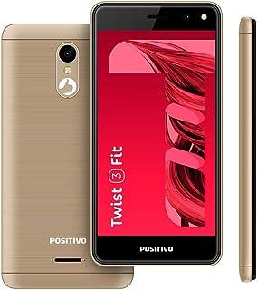 "Smartphone Positivo Twist 3 Fit S509C 32GB Dual Chip 5"" - Dourado"