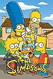 Lcyab Rompecabezas 1000 Piezas Juguete Educativo Para Niños Ocio Para Adultos Los Simpsons Clásico Juego De Tema Decoración Hogar Vacaciones Regalo De Cumpleaños