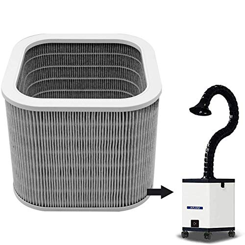 Reemplace el filtro para el mini extractor de humo Soldador Absorbedor de humo (FILTRO PRINCIPAL)