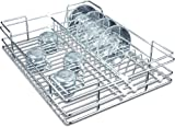 Now & Ever Stainless Steel Modular Kitchen Cup And Saucer Holder Basket, 17 W X 20 D X 4 H Inches, Silver
