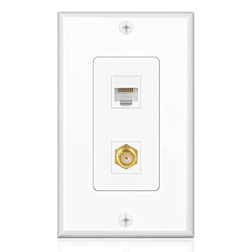 cable wall plate  amazon ca