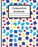 Composition Notebook: Perfect Clear Wide Ruled Primary puzzle Composition Notebook 120 Pages Writing Journal For Homework School Workbook For Kindergarten Boys Girls Kids teens adults for practice.