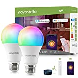 Ampoule LED Intelligente WiFi E27 RGBCW Blanc Chaud/Froid (2700K-6000K) avec IR...