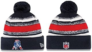 2014 NEW ENGLAND PATRIOTS TEAM SIDELINE BEANIE ON FIELD KNIT HAT CAP