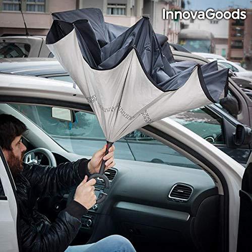Innova Goods Guarda-chuva Fecho Invertido - 4899888117353