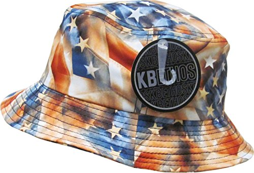 BOB KBETHOS - American Flag - Orange
