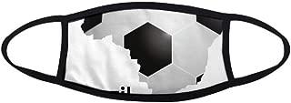 DIYthinker Soccer Brazil Map Shape Brazil Slogan Mask Mouth Face Anti-dust Anti Cold Warmer