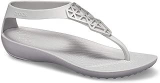 Crocs Womens Serena Embellish Flip