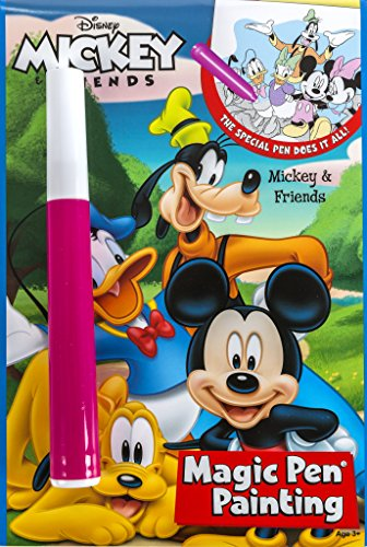 Mickey and Friends Magic Pen Painting Book