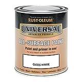 Rust-Oleum AMZ0091 750ml Universal Paint - Gloss White