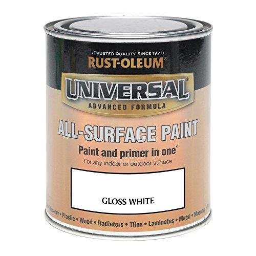Rust-Oleum AMZ0043 250ml Universal Paint - Gloss White