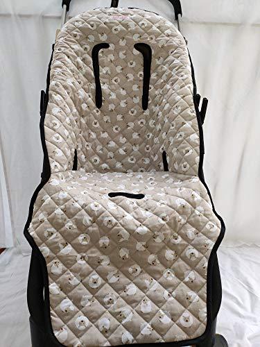 MOON-BEBE Colchoneta para silla Bugaboo Cameleon 2 Y 3 (BIEG)