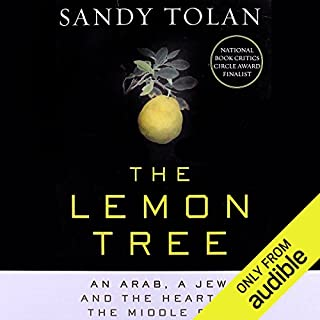 The Lemon Tree audiobook cover art