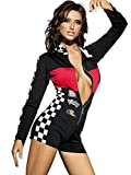 Beauty's Love Sexy Long Sleeved Race Car Driver Adult Halloween Queen Costume Jumper for Women