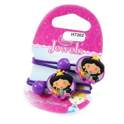 Princess Jewels [H7302] - Paire d'élastiques 'Princess Jewels' violet