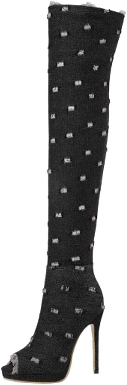 Melady Women shoes Fashion Boots Stiletto Heels
