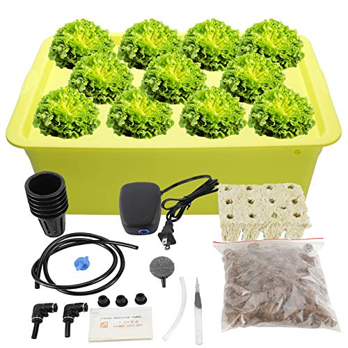 HighFree Hydroponic System Growing Kit for Plants Herb Garden Starter...