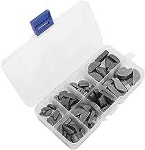 80 stks Metalen Woodruff Keys Halfcirkel Assortiment Box Set Kit Verschillende Maten