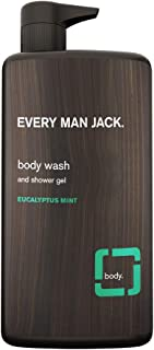 Every Man Jack Body Wash, Eucalyptus Mint, 33.8-Ounce