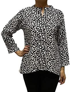 Veronica Long Sleeve Ladies Blouse tiger