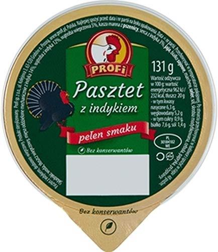 GroßhandelPL Profi Puten - Brotaufstrich Pastete 15er Pack (15x131g)