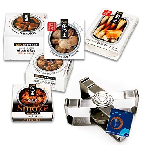 缶つま プレミアム 惣菜 缶詰 和風 5缶 詰め合わせ 魚 肉 おつまみ 缶詰め ウォーマー セット ふりかけ