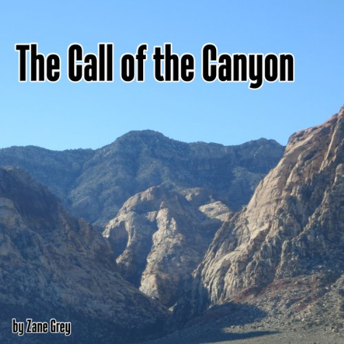 『The Call of the Canyon』のカバーアート