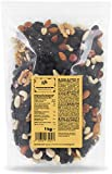 KoRo - Studentenfutter Extra-Klasse 1 kg - Mischung aus Weinbeeren Paranuss Cashews Walnuss Mandeln - Ohne Zusätze