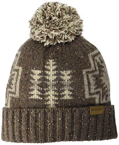 Pendleton Women's Hat Pom, Harding Brown, One Size