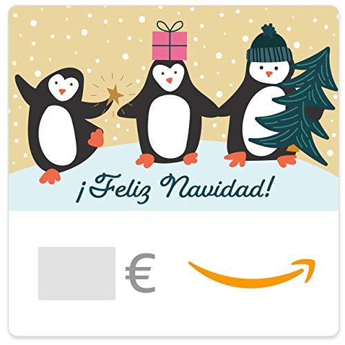 Cheques Regalo de Amazon.es - E-mail - Familia pingüino