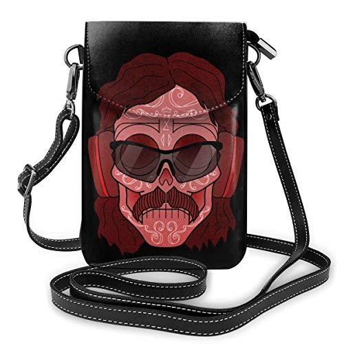 Hdadwy Dr. Disrespect Lightweight Small Crossbody Bag Mobile Wallet Ladies Wallet