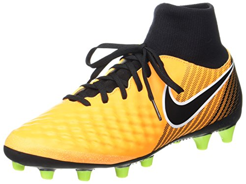 Nike Herren Magista Onda II Dynamic Fit (AG-Pro) Fußballschuhe, Orange (Laser Orange/Black-White-Volt-White), 40.5 EU