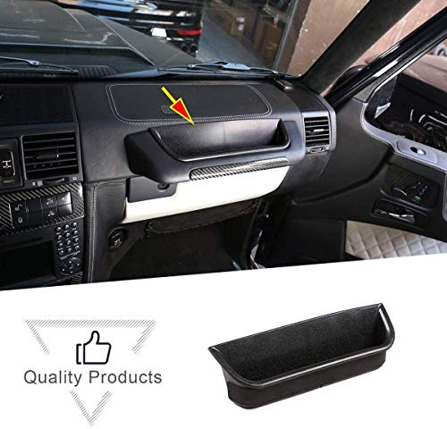 CHEYA ABS Copilot Grip Storage Box for Mercedes Benz G Class AMG Wagon Cross Country SUV W463 G350 G400 G500 G500 G55 G63 G65 G800 2004-2018 Car Accessories