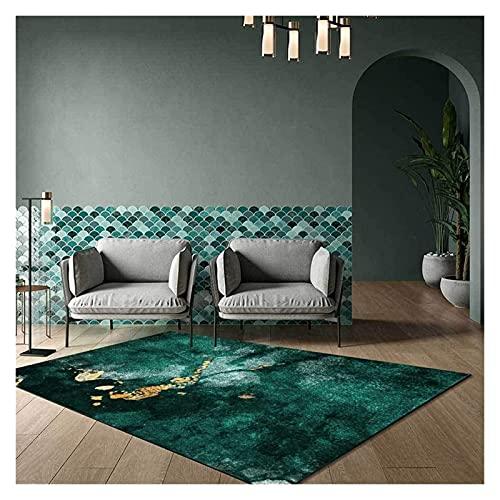 alfombra de la Zona Moderna, Cama de la Cama de la Cama de la Cama Cama de la Cama, Luxury Emerald Verde abstractas, Sofá de la Sala de Estar Sofá de la Sala de