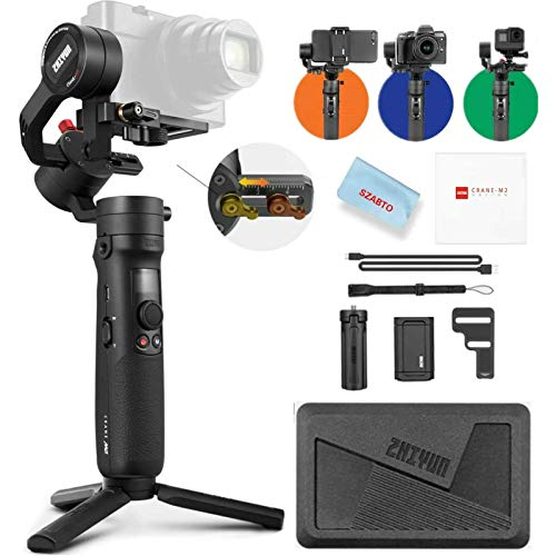 Zhiyun Crane-M2 (Crane M Upgraded) Estabilizador Gimbal de 3 Ejes Compatible con Camera...