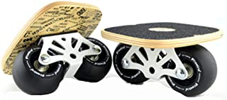 Drift Plate, Freeline Skates Road Board High end Bearings PU Wheels Wear-Resisting Non-Slip