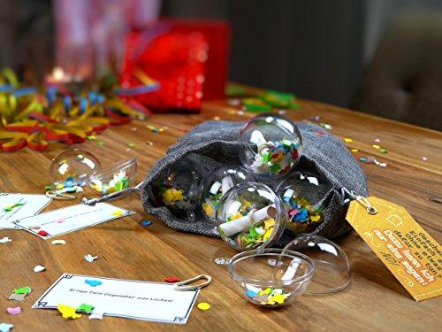 Neuheit: Originelle Geschenkverpackung + Rätselspiel + Geschenkidee: Ideal für Gutscheine und Geldgeschenke zu Geburtstag, Weihnachten & Jahrestag – Wiederverwendbar - 3