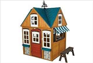 KidKraft Backyard Wooden Seaside Cottage Outdoor Children Kids Toddler Playhouse