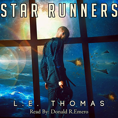 Star Runners audiobook cover art