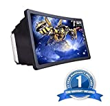 Aking 3D Phone Screen HD Magnifier Anti-Radiation Movie Video Projector Amplifier with Foldable
