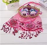 Fiesta de Maquillaje Fiesta Navidad Halloween Danza del Vientre Velo máscara de Dama Código Promedio Rojo Rosa
