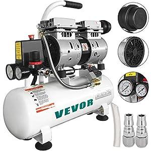 51wcV27o31L. SS300  - Moracle Compresor de Aire sin Aceite Silencioso de 2 Galones / 9 Litros