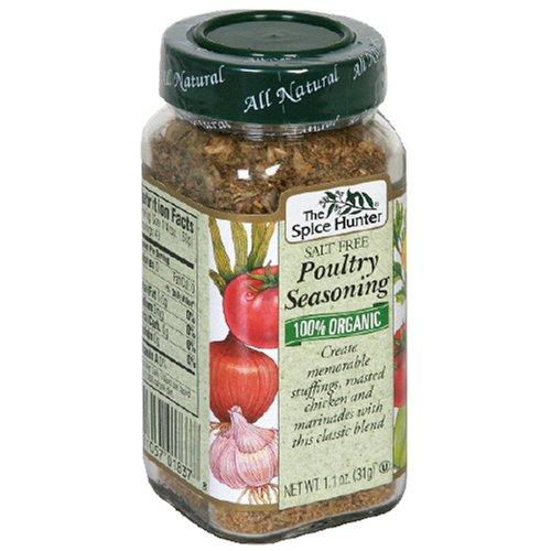 Spice Hunter Poultry Seasoning, Salt Free 1.1 oz (Pack Of 6)