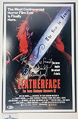 Ra R.a. Mihailoff Signed Texas Chainsaw Massacre 12x18 Photo Poster Bas G72468 Autograph Autographed Horror
