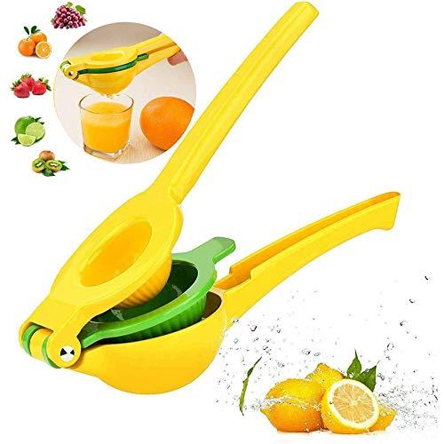 Exprimidor manual 2 en 1, exprimidor de naranjas, exprimidor manual portátil para...