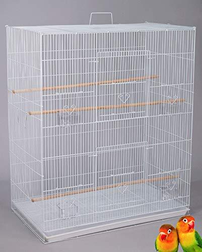 "36"" Large Finch Parakeet Canary Cockatiel Breeder Breeding Flight Bird Cage"