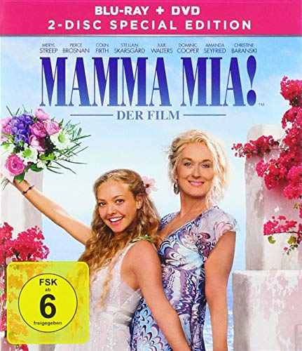 Mamma Mia! - 2-Disc Special Edition - Blu-ray ( + Bonus DVD)